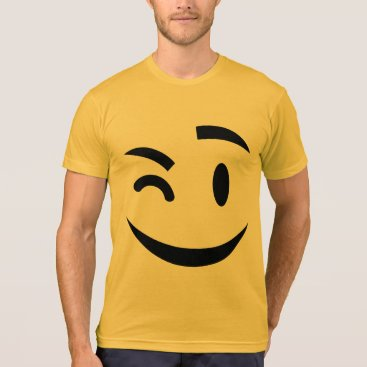 winking at you emoji T-Shirt