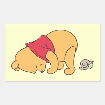 Winnie the Pooh 4 Rectangular Sticker