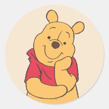 Winnie the Pooh 6 Classic Round Sticker