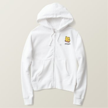 Winnie the Pooh | Add Your Name Embroidered Hoodie