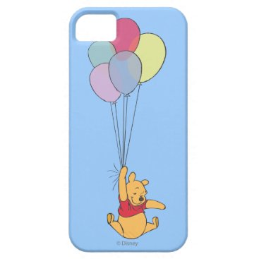 Winnie the Pooh and Balloons iPhone SE/5/5s Case