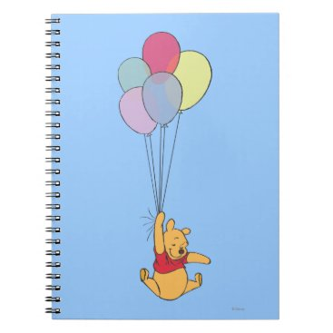 Winnie the Pooh and Balloons Notebook
