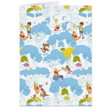 Winnie the Pooh | At the Honey Tree Pattern