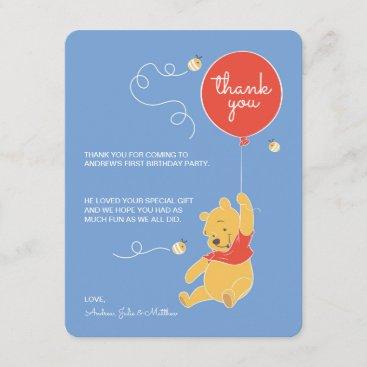 Winnie the Pooh | Baby Boy- Thank You