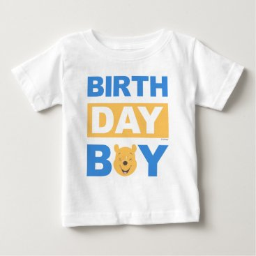 Winnie the Pooh | Birthday Boy Baby T-Shirt