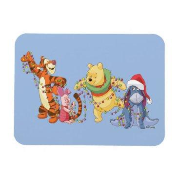 Winnie the Pooh | Christmas Lights Magnet