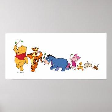Winnie the Pooh Crew Poster