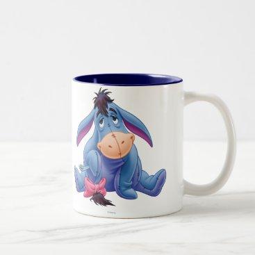 Winnie the Pooh | Eeyore Smile Two-Tone Coffee Mug
