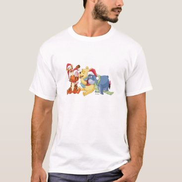 Winnie The Pooh & Friends Holiday T-Shirt