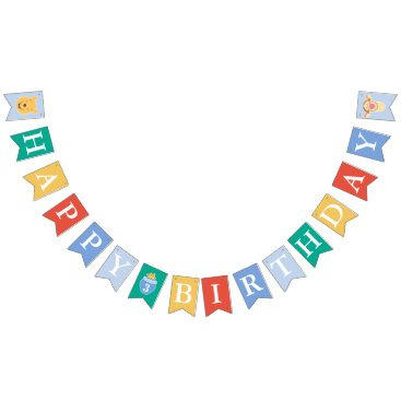 Winnie the Pooh | Happy Birthday Bunting Flags