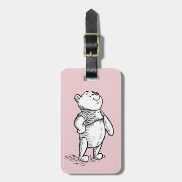 Winnie the Pooh | Hello World Quote Bag Tag