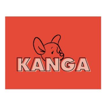 Winnie the Pooh | Kanga Peek-A-Boo Postcard