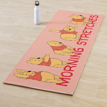 Winnie the Pooh Morning Stretches Yoga Mat