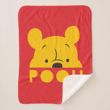 Winnie the Pooh | Peek-a-Boo Pooh Sherpa Blanket