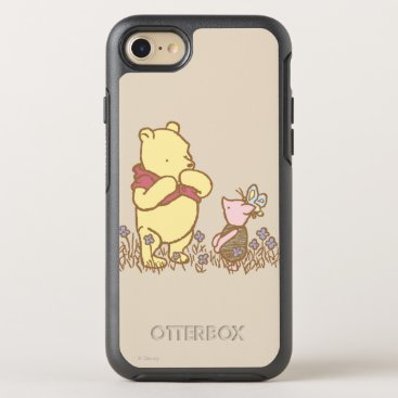 Winnie the Pooh | Pooh and Piglet in Field Classic OtterBox Symmetry iPhone 8/7 Case