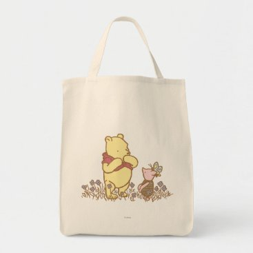 Winnie the Pooh | Pooh and Piglet in Field Classic Tote Bag
