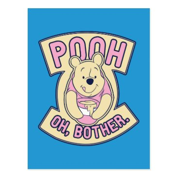 Winnie The Pooh | Pooh Oh Bother Postcard