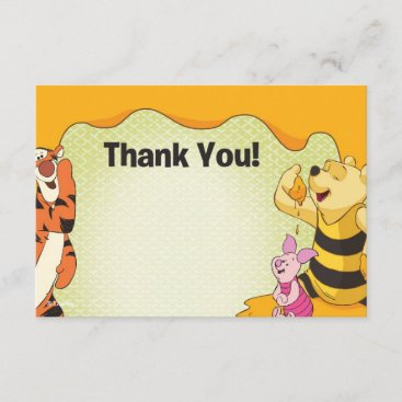Winnie the Pooh Thank You Cards