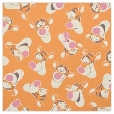 Winnie the Pooh | Tigger Faces Pattern Fabric