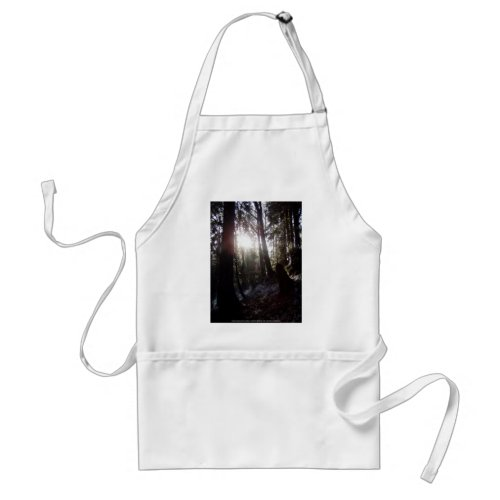 Winter Sunrays #16 apron