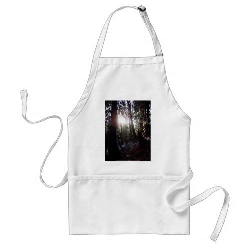 Winter Sunrays #16 apron