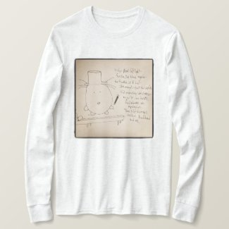 """Without the Words"" Wearable Poetry T-shirt"
