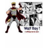 Comic Book Geeks T-Shirts & Gifts - Wolf Boy