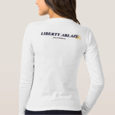 Womens LongSleeve Tee Patriot Gear