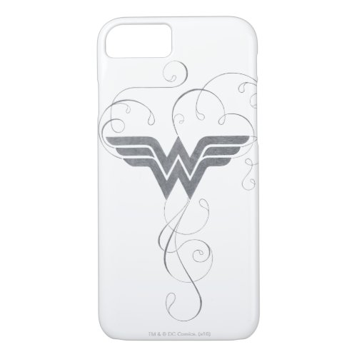 Wonder Woman | Beauty Bliss Logo iPhone 8/7 Case
