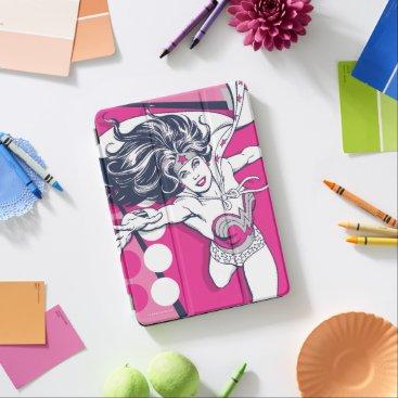 Wonder Woman Retro Glam Character Art iPad Air Cover