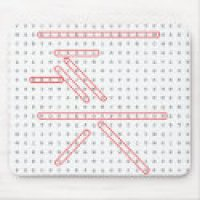 Word Search Geek - Mousepad