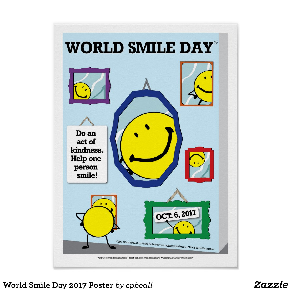 World Smile Day 2017 Poster