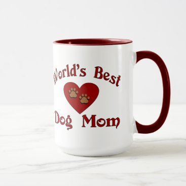 World's Best Dog Mom Mug