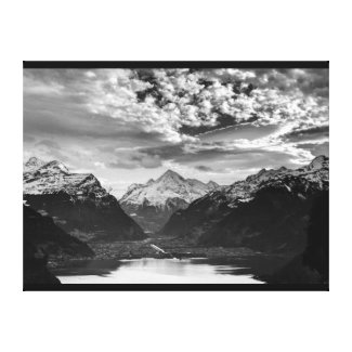 Wrapped Canvas Fine Art Print Switzerland Alps Canvas Print