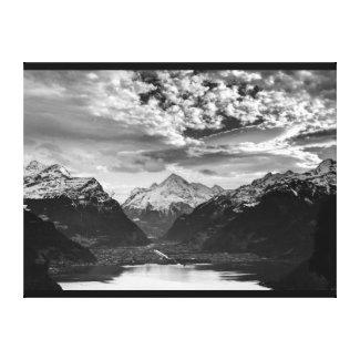 Wrapped Canvas Fine Art Print Switzerland Alps Canvas Print