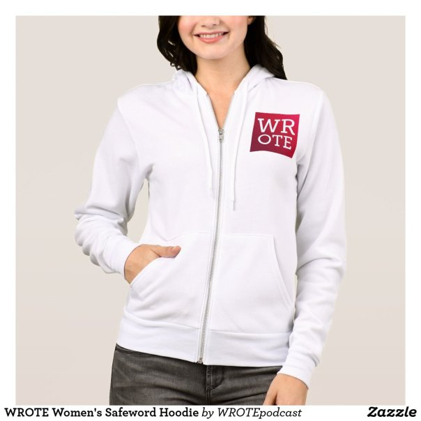 WROTE Women's Safeword Hoodie