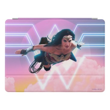 WW84 | Wonder Woman Flying Lo Fi Pastel Graphic iPad Pro Cover