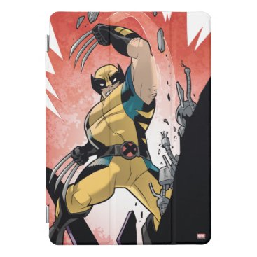 X-Men | Wolverine Slashing Machine Comic Panel iPad Pro Cover