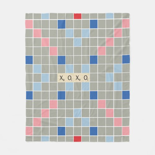 XOXO FLEECE BLANKET