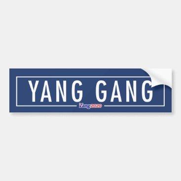Yang Gang - Andrew Yang 2020 Bumper Sticker