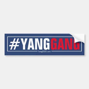 #YangGang - Andrew Yang 2020 Bumper Sticker