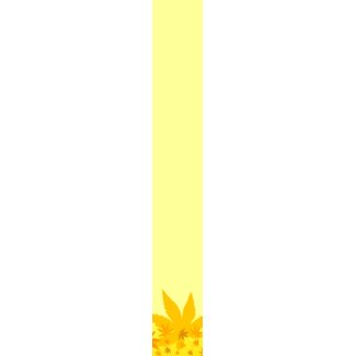 Yellow autumn - Tie