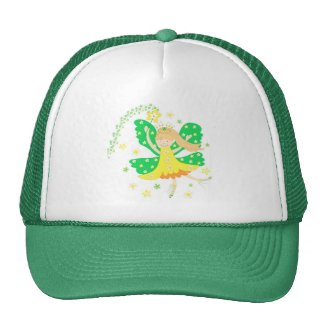 Yellow daffodil fairy - Hat hat