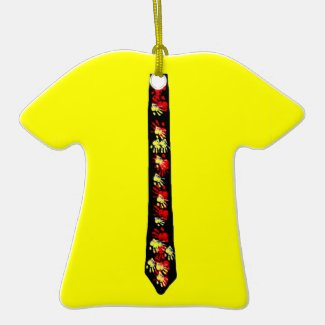 Yellow shirt/Tie Ornament for your Teen(customize)