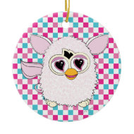 Yeti White Furby Ornaments