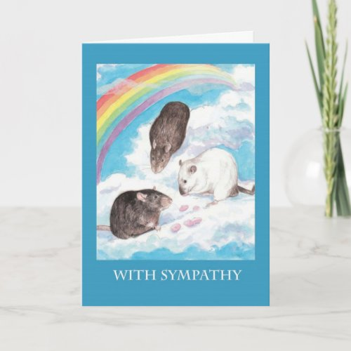 Yogurt Drops at he Rainbow Bridge Card
