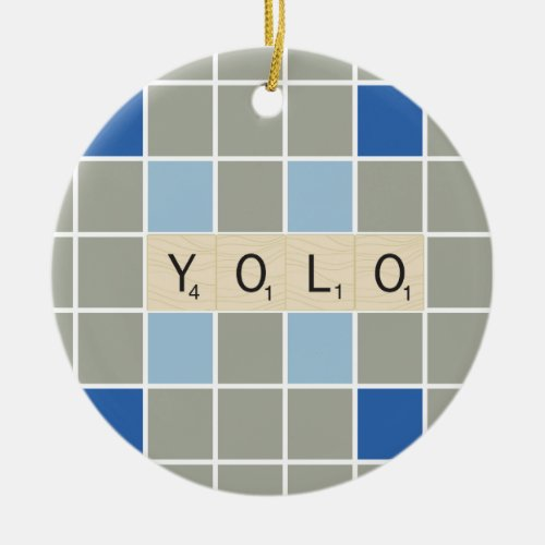 YOLO CERAMIC ORNAMENT