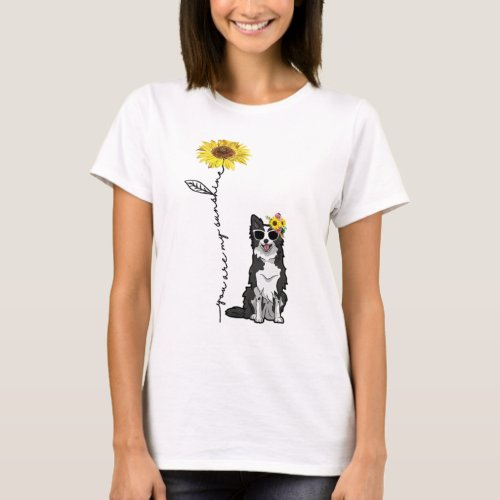 You Are My Sunshine, Border Collie Lover T-Shirt