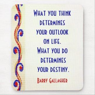 Your Attitude Motivational Quotes Mousepad mousepad