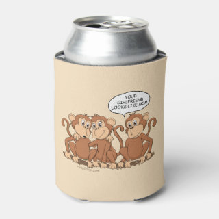 Your Girlfriend Looks Like Mom Funny Monkey Can Cooler
